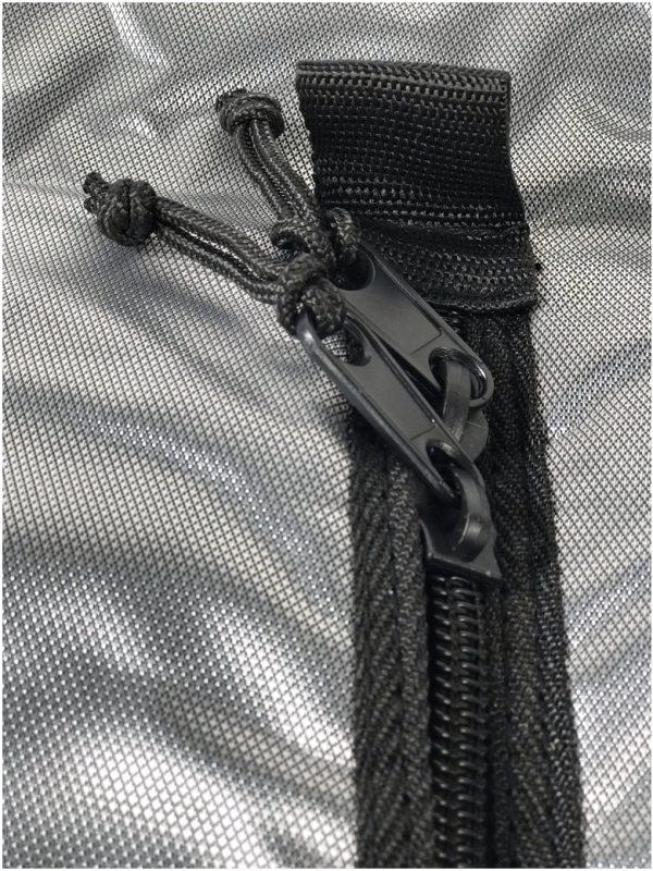 Kitefoil protection bag for assembled foil nylon zip