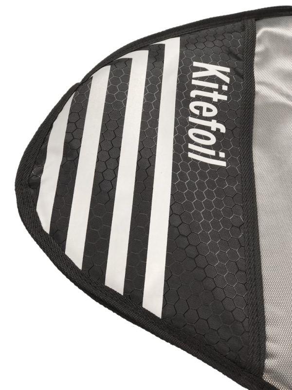 Kitefoil protection bag for assembled foil tips renforcement