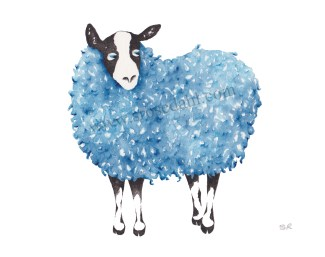 Funky Sheep Blue II URL