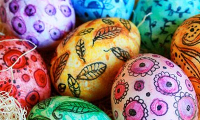 Faux Ukrainian Egg Decorating - Sunday, April 2, 1:00 - 4:00 pm