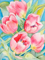 Watercolor for Adults @ Pickleweed Library | San Rafael | California | United States