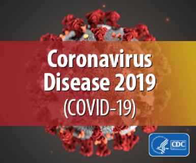 Coronavirus badge