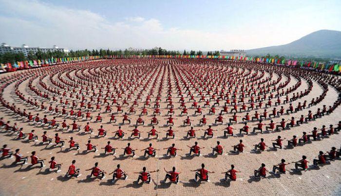Kung Fu Performance In Zhengzhou