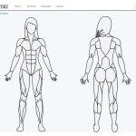 Сайт по подбору упражнений для каждой группы мышц