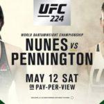 ММА (Часть 6) Смешанные единоборства — UFC 224 — последний «дневной» чемпионат