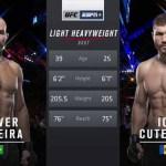 Видео боя: Гловер Тейшейра — Ион Куцелаба / Glover Teixeira vs Ion Cutelaba (UFC Fight Night 150: Jacaré vs. Hermansson )