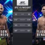 Видео боя Дейвисон Фигейреду — Джозеф Бенавидес / UFC Fight Night 172: Фигередо — Бенавидез 2