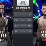 Видео боя Марк Диакизи – Рафаэль Физиев / UFC Fight Night 172: Фигередо — Бенавидез 2