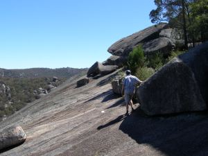 Scaling the Pyramid, Girraween SE Qld
