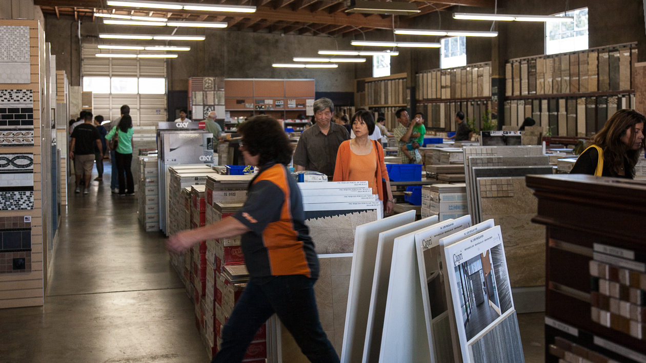 some thoughts while buying tile steve stern s fieldnotes from a random walk through life with pictures