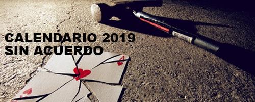 Calendario laboral 2019 sin acuerdo. Se rompe la baraja en Barcelona.