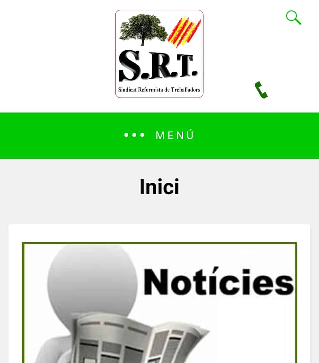 Screenshot amp Sindicat Reformista de Treballadors