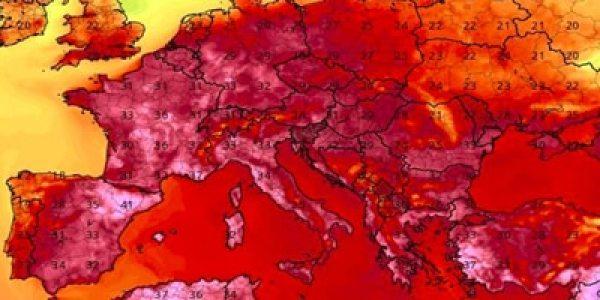 La primera ola de calor del año se extenderá previsiblemente hasta el 1 de julio