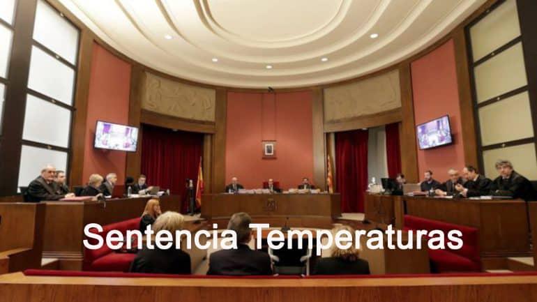Sentència temperatura