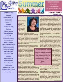 SRTA Newsletter June 2013