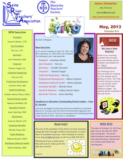 SRTA Newsletter May 2013