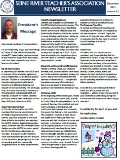 SRTA Newsletter December 2013