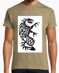 Tee-shirt Dragon Tribal T-shirt homme