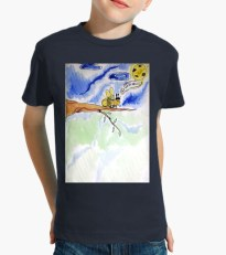 Vêtements enfant Loula la vie est belle Tshirt imprimé pour enfant