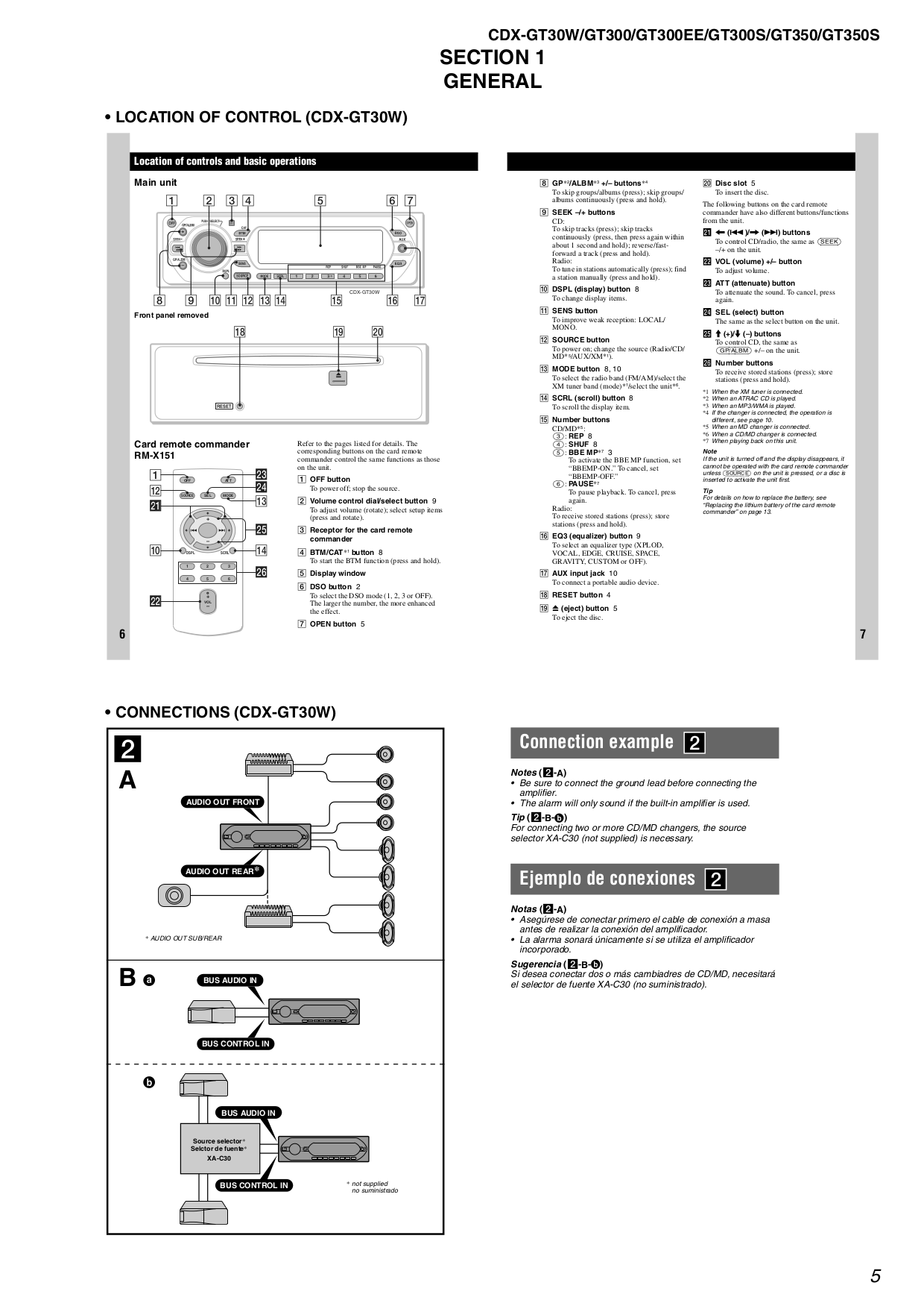 CDX GT350S.pdf 4?resize=665%2C941 sony cdx gt500 wiring diagram sony car stereo wiring adapter sony cdx gt300 wiring diagram at gsmx.co
