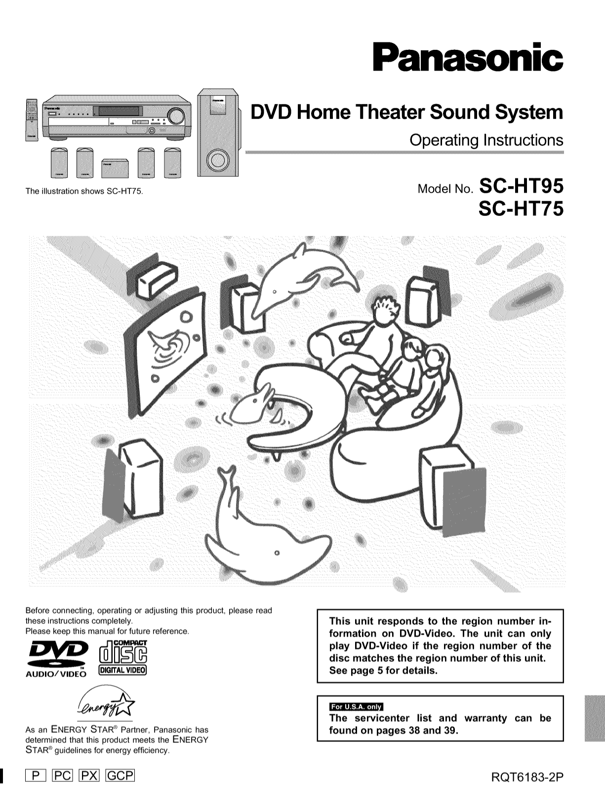Download Free For Panasonic Sc Ht75 Home Theater Manual