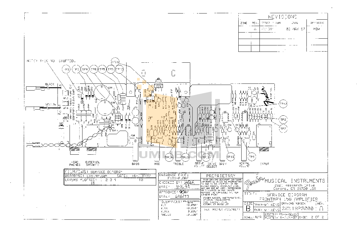 Manual For Fender Amp Frontman 15g