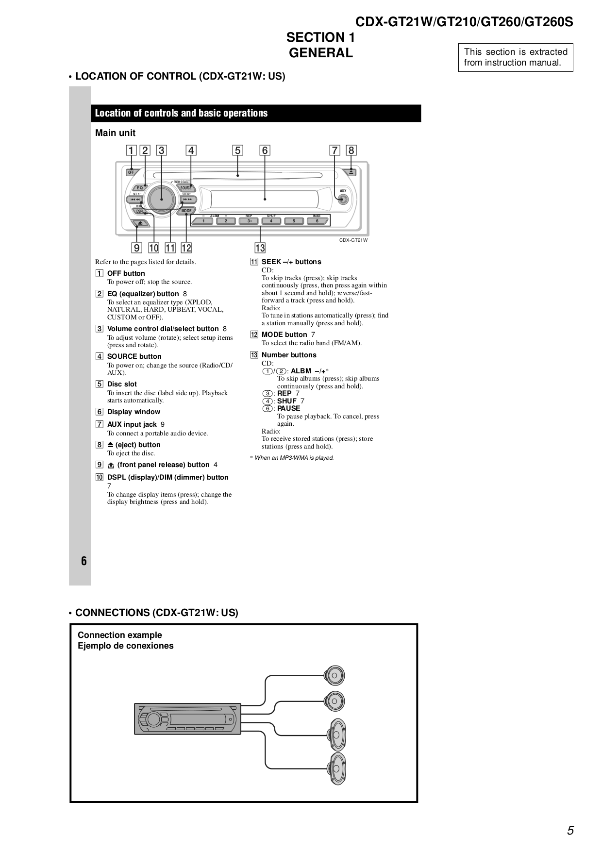 cdx gt21w gt210 gt260.pdf 4?resize\\\\\\\\\\\\\\\\\\\\\\\=665%2C941 hunter 260 wiring diagrams wiring diagrams Hunter Ceiling Fan Wiring Diagram at mifinder.co