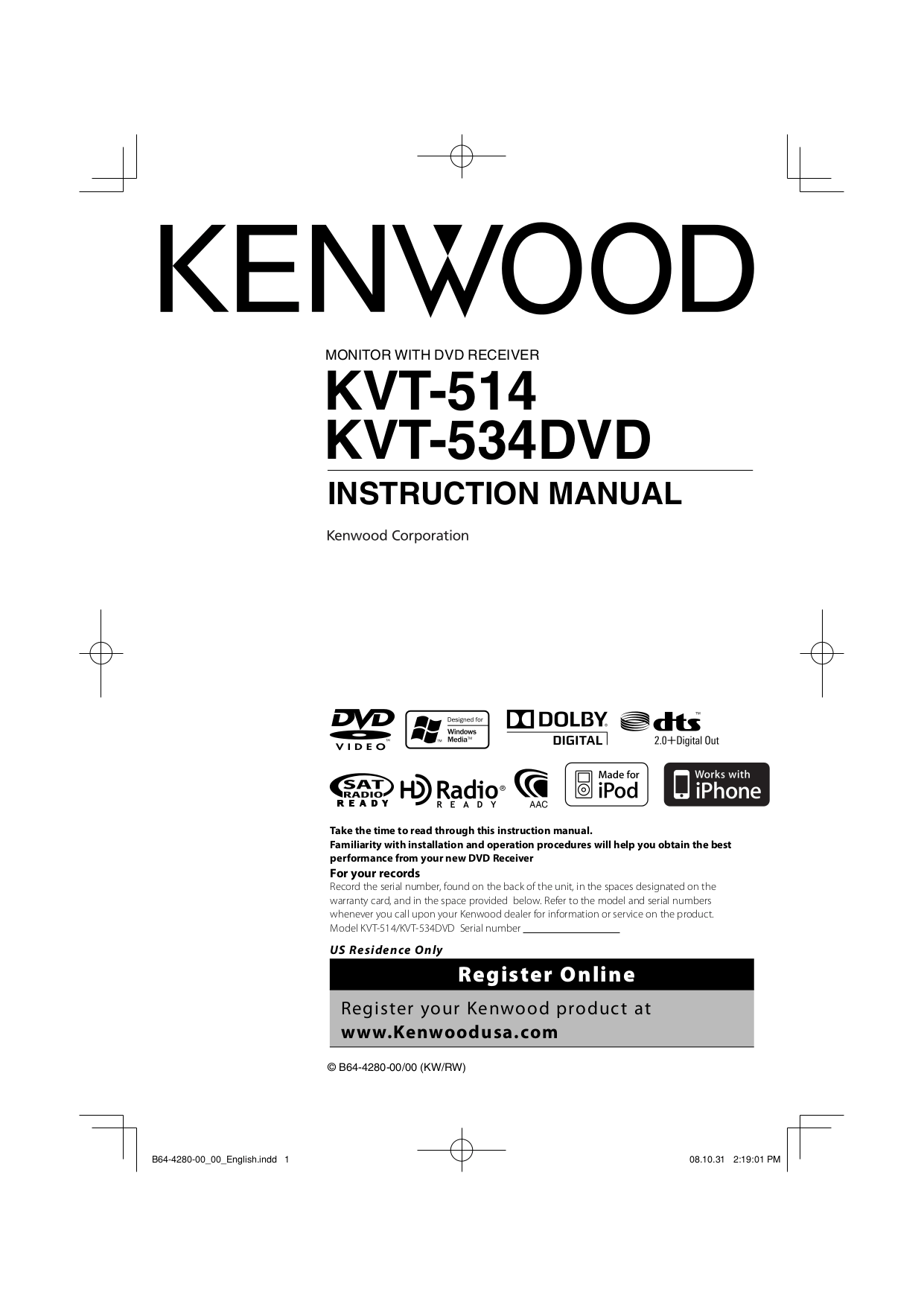 Kenwood Kvt 516 Wiring Diagram Kenwood USB Cable Diagram