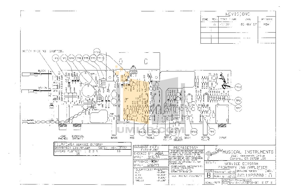Manual For Fender Amp Frontman 15r