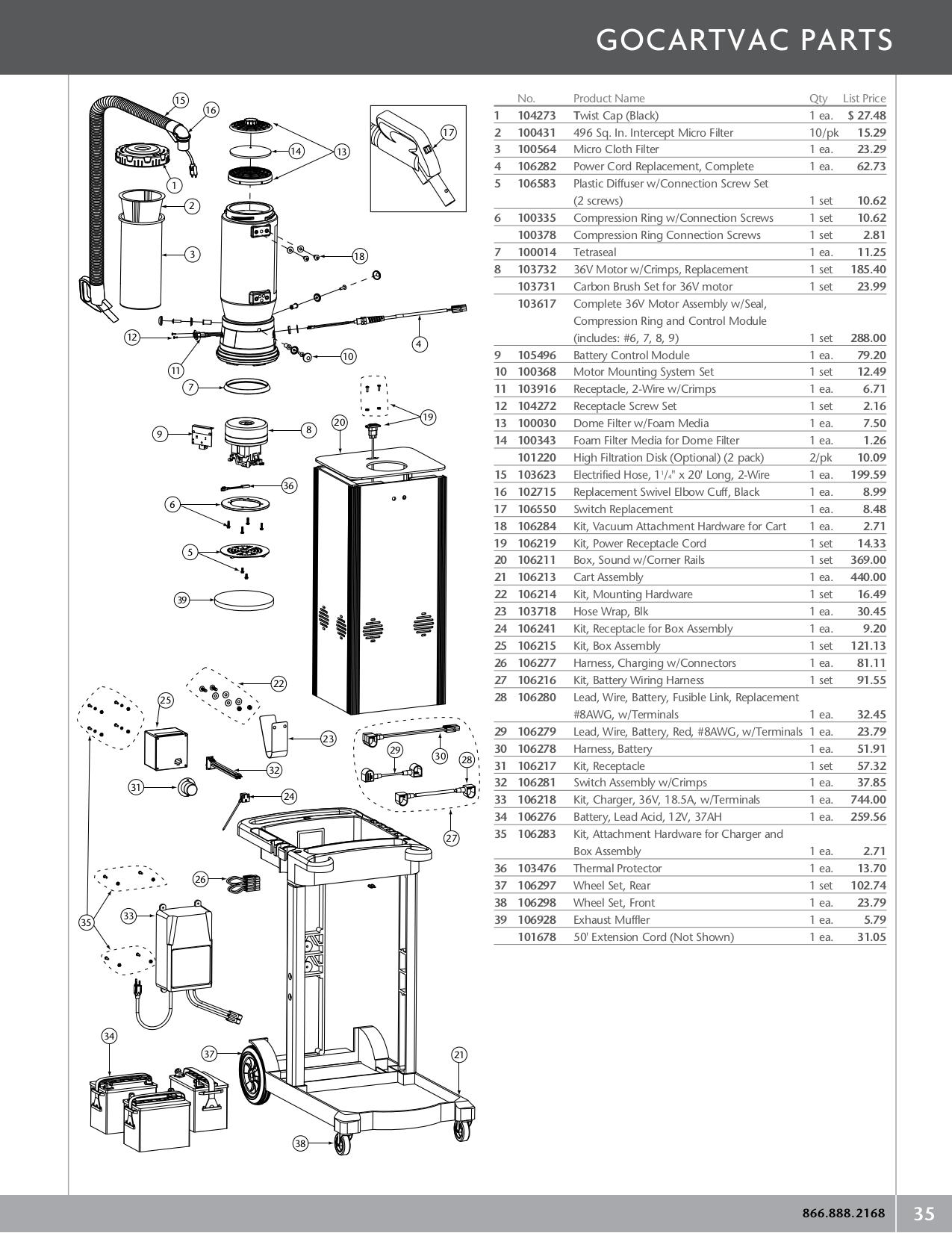 Download Free For Pro Team Gocartvac Vacuum Manual