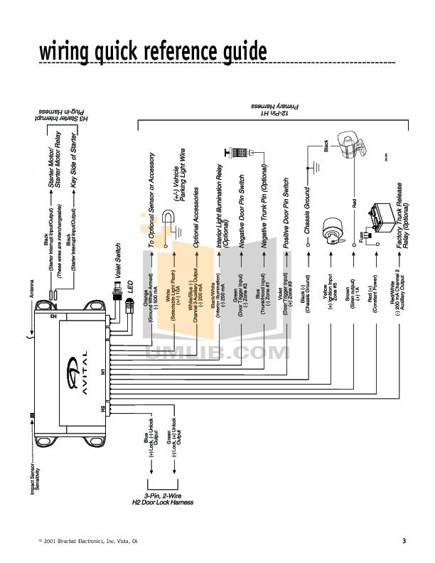 avital 4113 remote starter wiring diagram bulldog remote