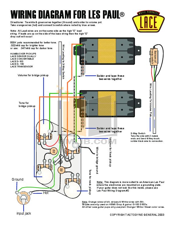 Gibson Les Paul Studio Wiring Diagram - Wiring Diagram
