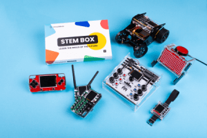 STEM Box, electronic projects delivered to your doorstep