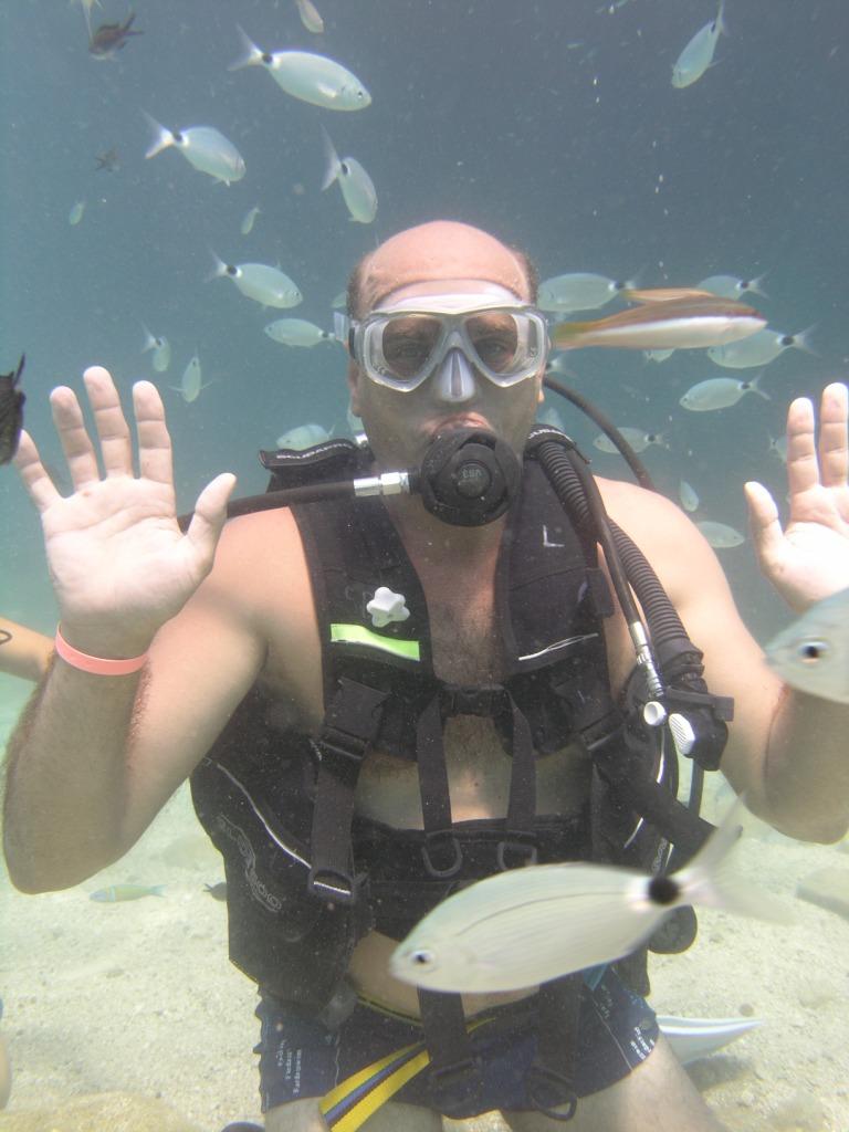 Diving in Kemer. Погружение в Кемере