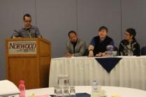 Panel Discussion, Noah, Reece, Gina, Kara