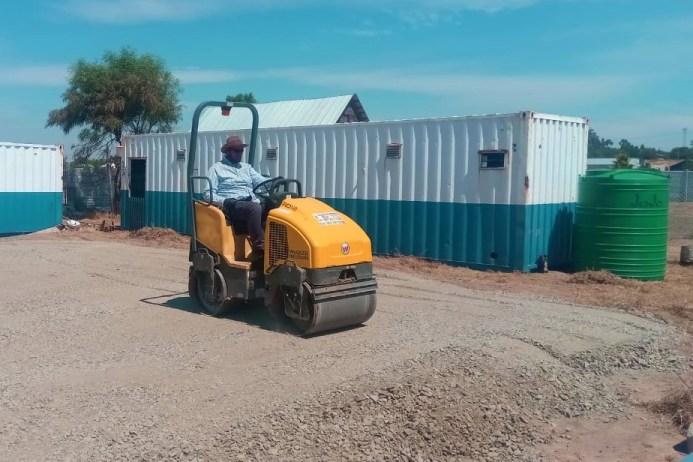 ground preparation roller compactor