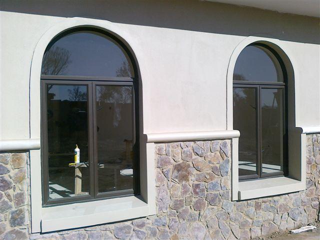 arched aluminium windows by RDA Aluminium advantages of aluminium window frames
