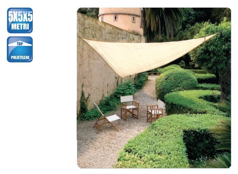 Tenda a wela quadrata 5,4m per feste kookaburra · 3. Tenda A Vela Ombreggiante Triangolare 5 X 5 X 5 Ecru Sabbia Per Ombra