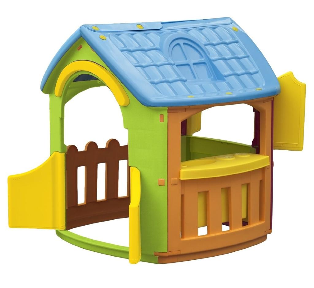 Casetta Da Giardino Casa Per Bambini Alta 120 Cm Chef Codcp1392