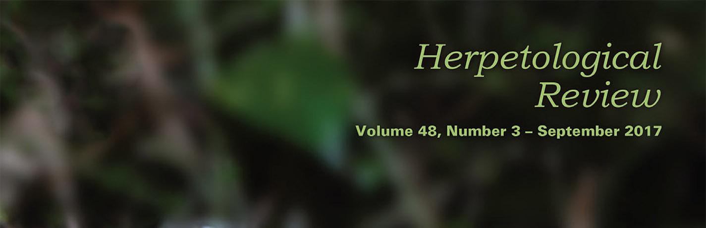 Herpetological Review 48(3) released online!