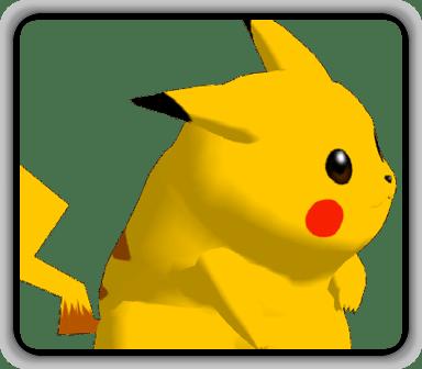 Melee Pikachu Textures