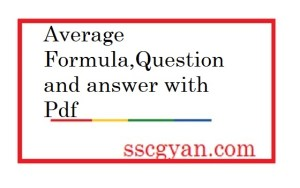 Average Formula question