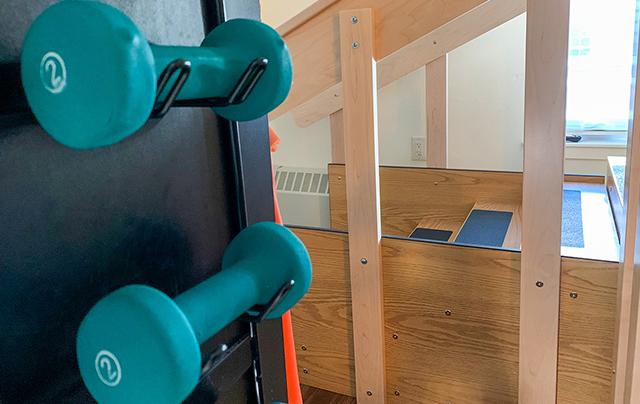 Short-term rehabilitation equipment at SSC