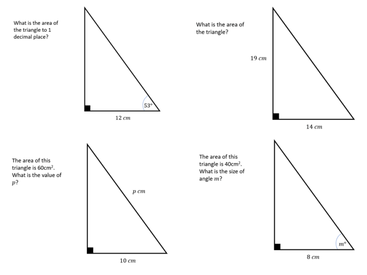 Right-angled Triangles 2 – SSDD Problems