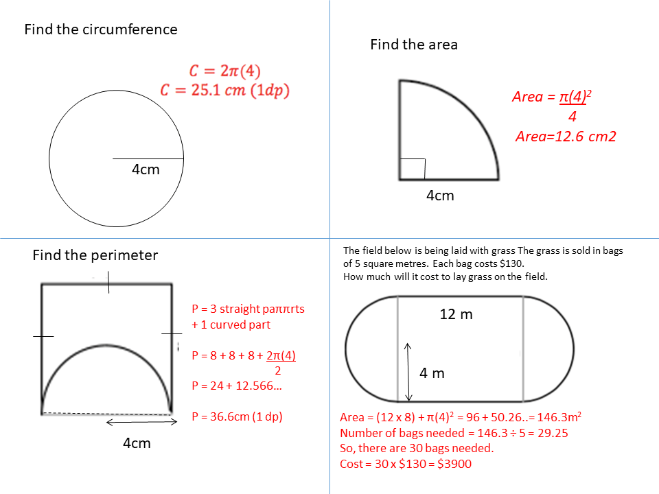 The Radius Is 4 Ssdd Problems
