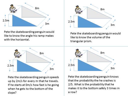 Geometry > Surface area and volume > Volume of a prism – SSDD Problems