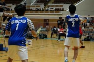 SSDS・大阪・バドミントン・全日本実業団・秋田