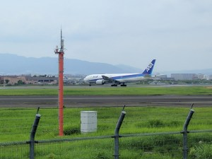 Airplanes at Itami Airport