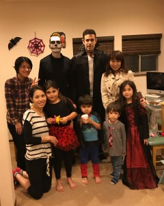 Halloween party in Japan
