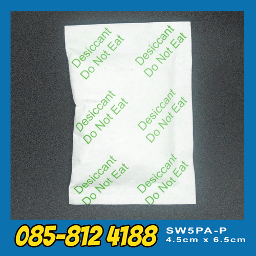 Silica Gel White Paper – ซิลิกาเจลสีขาว กระดาษ - 5g (1500pcs/Box) 1